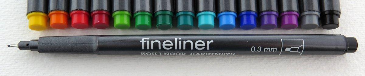 Fineliner 0,3mm von Koh-i-Noor