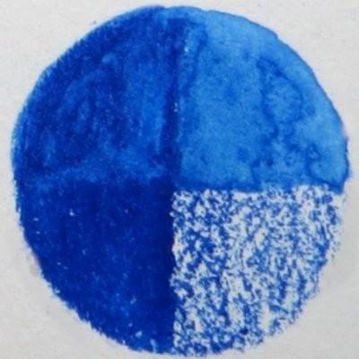 53 Phthalo Blue- Wax Wachs-Aquarell Farbstift