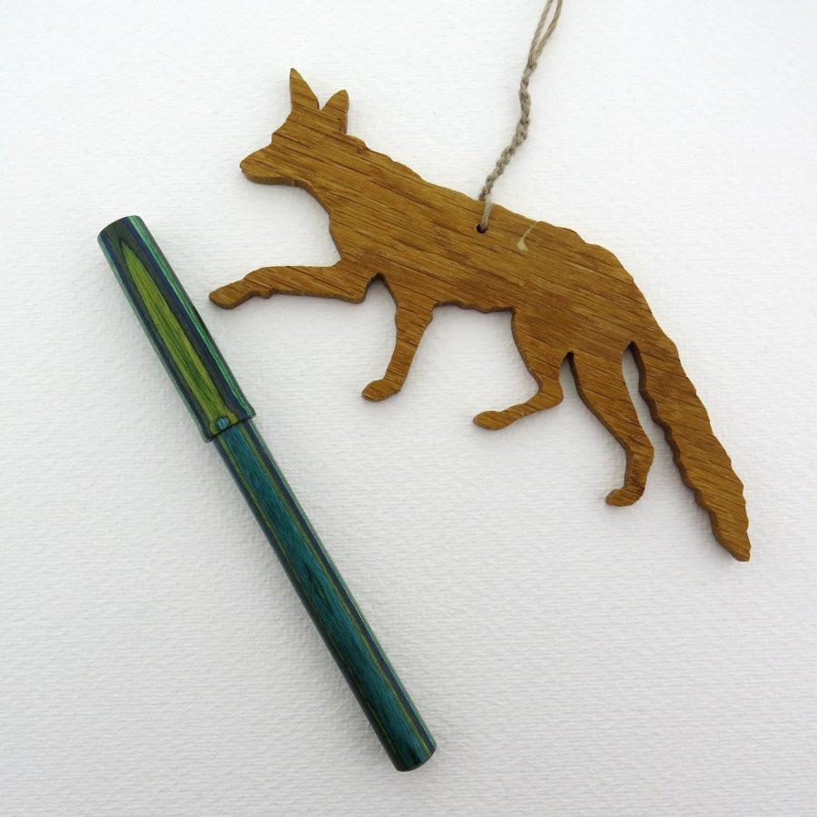 Holz-Füller Endless in Dymond grün blau - Seite A
