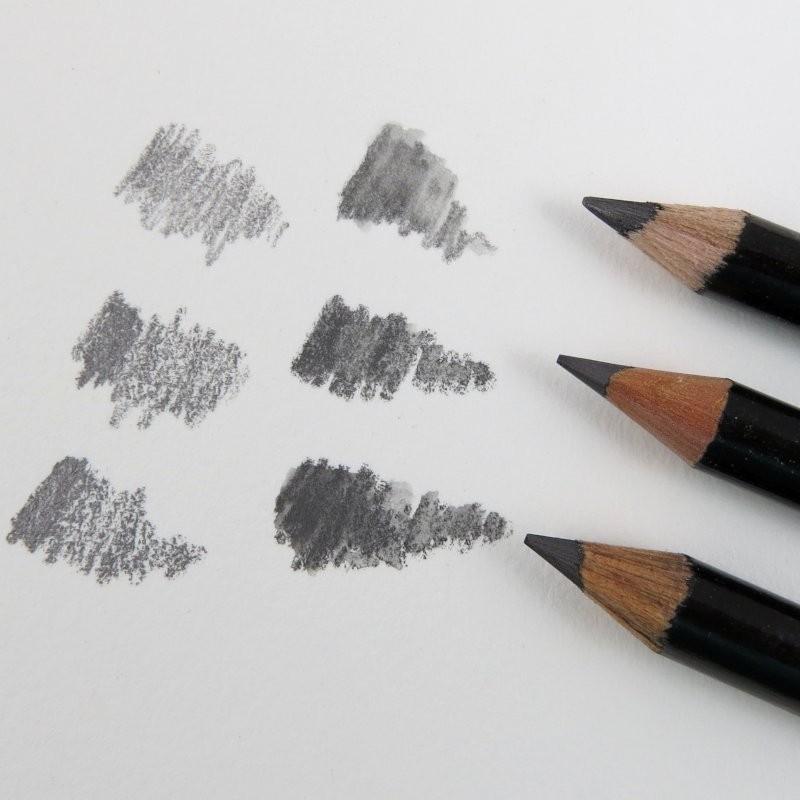 Aquarell Bleistift im Holzmantel in 2B, 4B oder 6B