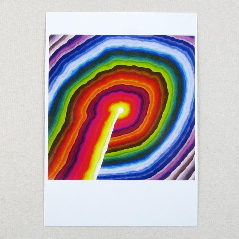 """Postkarte  """"108 Farbenbild"""" von Thora Wietrek"""