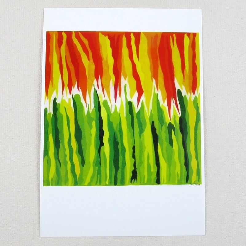 """Postkarte  """"Mai"""" von Thora Wietrek"""
