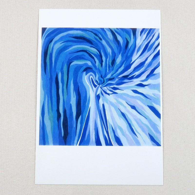 """Postkarte  """"Fee"""" von Thora Wietrek"""