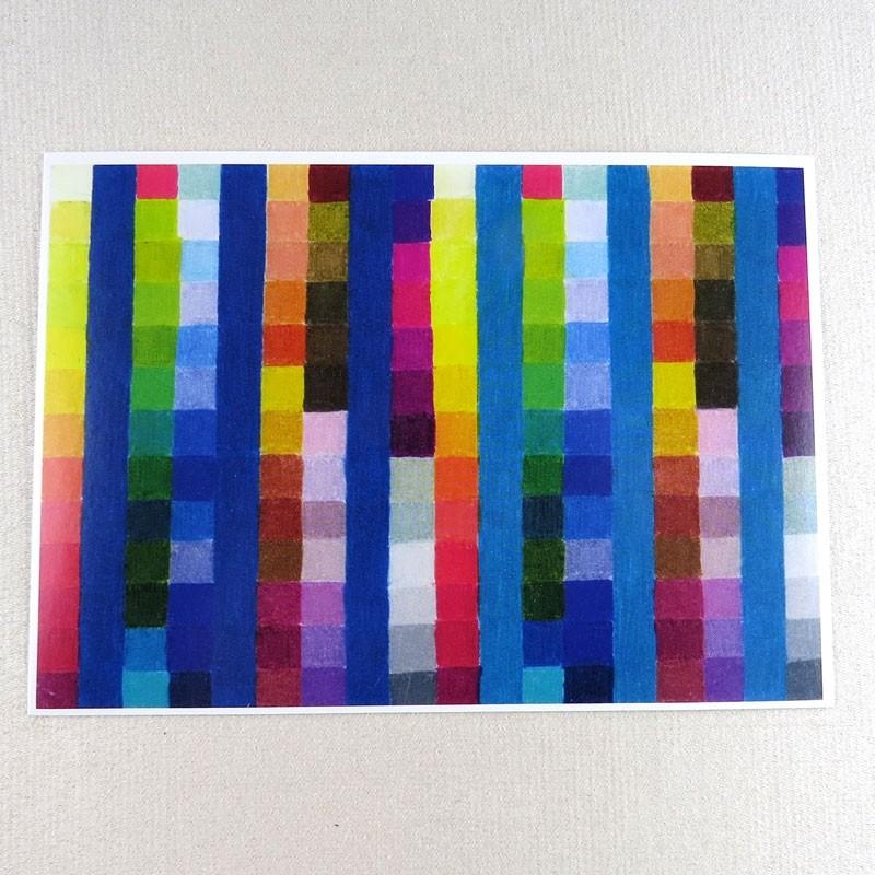"""Postkarte  """"Farbkarte 905"""" von Thora Wietrek"""