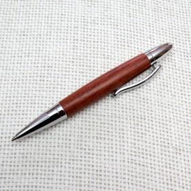 Holzkugelschreiber kurz aus Rosenholz