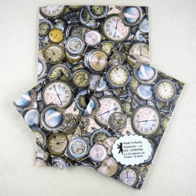 Notiz-Heft Uhren