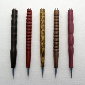 """0,5mm, 0,7mm, 0,9mm Druckbleistift """" Wilde Formen """""""