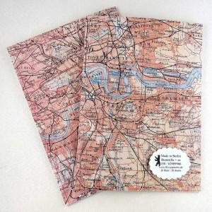 A5 Notiz-Heft Stadtplan London