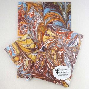 Notiz-Hefte mit marmorietem Umschlag, Impression