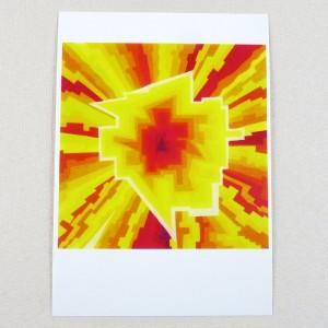 """Postkarte  """"Anfang"""" von Thora Wietrek"""