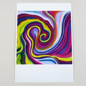 """Postkarte  """"Neumondimpuls"""" von Thora Wietrek"""