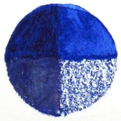 19 Sapphire Blue - Wax Wachs-Aquarell Farbstift