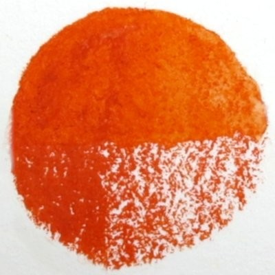 5 Reddish Orange - Wax Wachs-Aquarell Farbstift