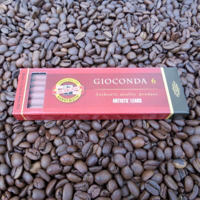 Gioconda Minen - Sepia - Ø 5,6mm für Fallminenstifte ( 6 Stück )