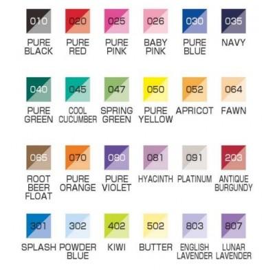 Brushables - Pinselstift mit 2 Farben von Kuretake Zig