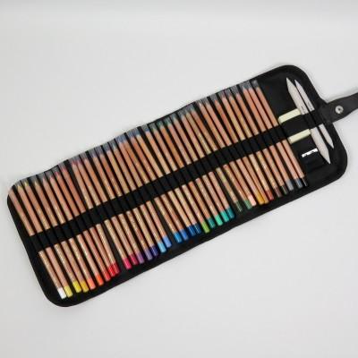 Stifterolle befüllt mit 36 Gioconda Soft Pastellkreide Stiften von Koh-I-Noor