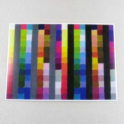 """Postkarte  """"Farbkarte 935"""" von Thora Wietrek"""