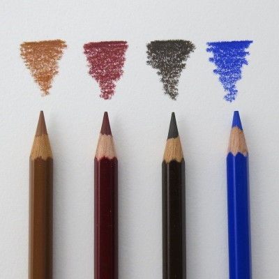 NEU: 4 Buntstifte Polycolor 3800 - Einzelstifte