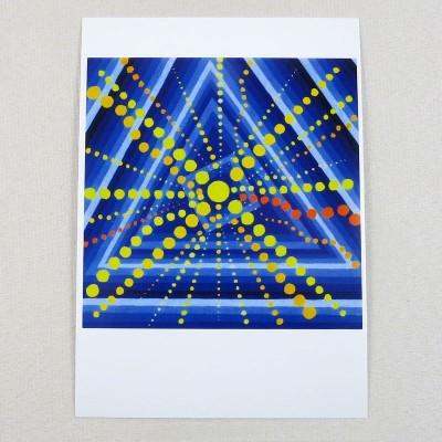 """Postkarte  """"Juni"""" von Thora Wietrek"""