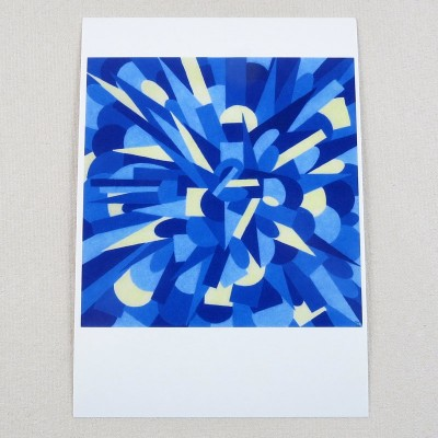 """Postkarte  """"Waage-Krebs"""" von Thora Wietrek"""