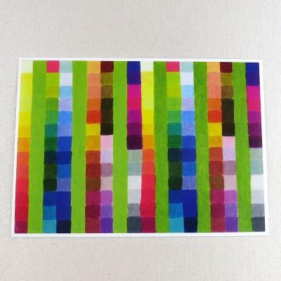 """Postkarte  """"Farbkarte 913"""" von Thora Wietrek"""
