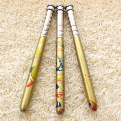 Stiftverlängerung gold - bunt marmoriert - Buntstift + so