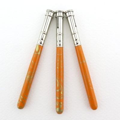 Stiftverlängerung orange - gold marmoriert