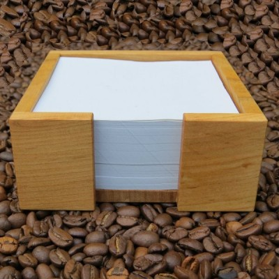 Zettelkasten aus Kirschholz, geölt